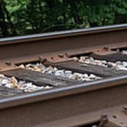 Csx Railroad Track Art Print