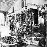 Cuba Fruit Vendor C1910 Art Print