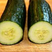 Cucumber Art Print