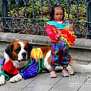 Cuenca Kids 124 Art Print