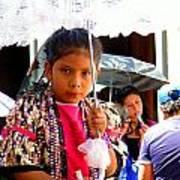 Cuenca Kids 190 Art Print by Al Bourassa