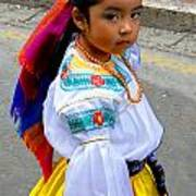 Cuenca Kids 210 Print by Al Bourassa
