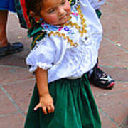 Cuenca Kids 55 Print by Al Bourassa