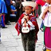 Cuenca Kids 91 Art Print