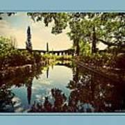 Cummer Pond Zen Art Print