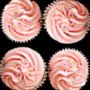 Cup Cakes Art Print by Jane Rix