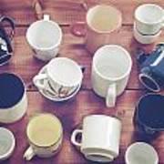 Cups Art Print by Joana Kruse