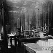 Curie Laboratory Art Print