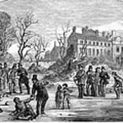 Curling, 1853 Art Print