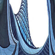 Curves - Archifou 42 Art Print