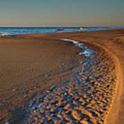 Curving To The Sea I Art Print