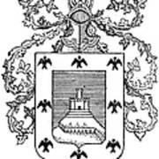 Cusco: Coat Of Arms Art Print