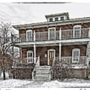 Cushings Point House Art Print