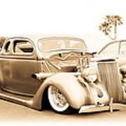 Custom 1936 Ford Art Print
