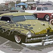 Custom Merc Art Print by Steve McKinzie