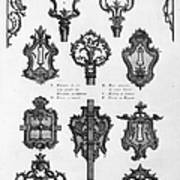 Cuvilli�s: Locks And Keys Art Print