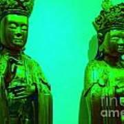 Cy-buddhas Art Print