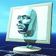 Cyber Personality Art Print