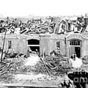 Cyclone Damage, 1896 Print by Science Source