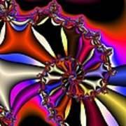 Cyclone Of Color Art Print