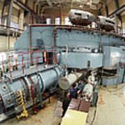 Cyclotron Particle Accelerator Art Print by Ria Novosti