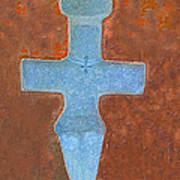 Cyprus Idol Of Pomos Art Print by Augusta Stylianou