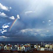 Cyprus Rainbow Art Print