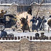 Czars Assassination, 1881 Art Print