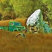 Daddy's Truck Art Print by Helen Carson