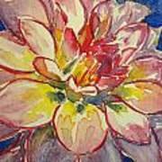 Dahlia Art Print