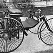 Daimler Automobile, 1889 Art Print