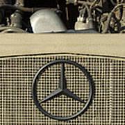 Daimler-benz A-g Hood Emblem Art Print