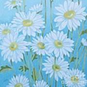 Daisies # 3 Art Print