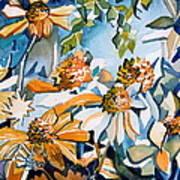 Daisy Carnival Art Print