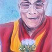 Dalai Lama-peace And Harmony Art Print