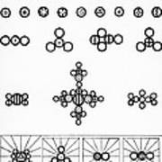 Daltons Symbols Art Print