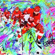 Dan Cleary And 5 Art Print