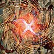 Dance Of Fires  Art Print by Jerry Cordeiro
