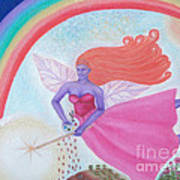 Dance With The Fairy Queen Art Print