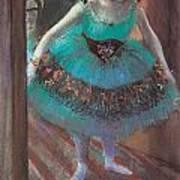 Dancer Leaving Her Dressing Room Print by Edgar Degas