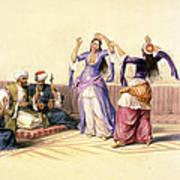 Dancing Girls At Cairo Art Print