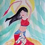 Danse Du Ventre Art Print