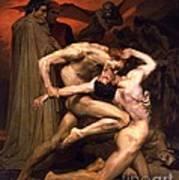 Dante And Virgil In Hell Art Print