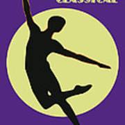 Classical Dancer Art Print