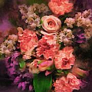 Dark Bouquet Art Print