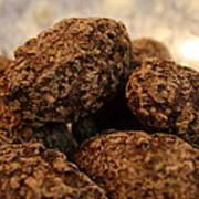 Dark Chocolate Almonds Art Print