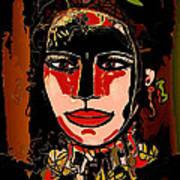 Dark Eyes Art Print