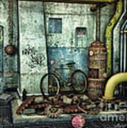 Dark Places Tell Stories Art Print