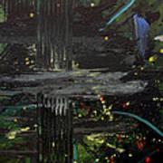 Dark Space Print by Ethel Vrana