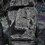 Dark Tiki Art Print